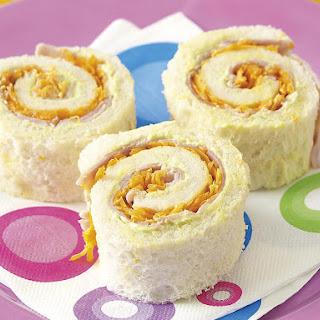 Spiral Sandwiches.