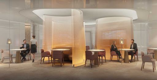 Le Voyage, an intimate 50-seat restaurant by chef Daniel Boulud, is new to Celebrity Beyond.