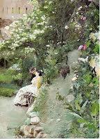 I Alhambras park