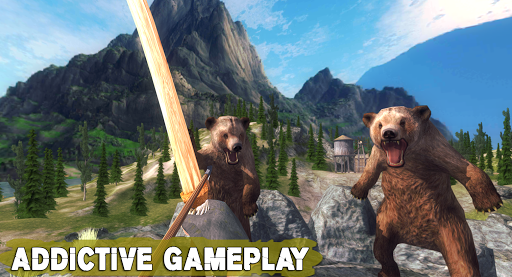 Bear Hunting 3D: Wild Animals Bow Archery Hunting android2mod screenshots 2