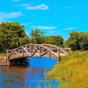 by Nancy Gray - Buildings & Architecture Bridges & Suspended Structures