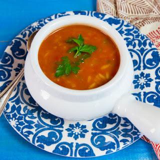 Tomato Rice Soup.