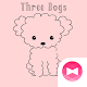 Cute Wallpaper Three Dogs Theme Download for PC Windows 10/8/7