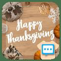 Next SMS Skin for ThanksGiving 2020 icon
