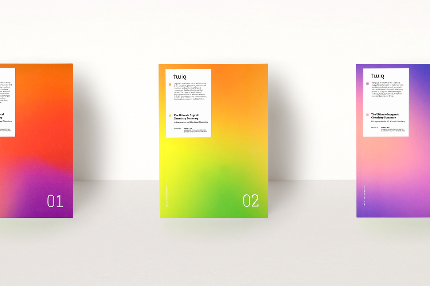 Colourful  tuition chemistry gradient