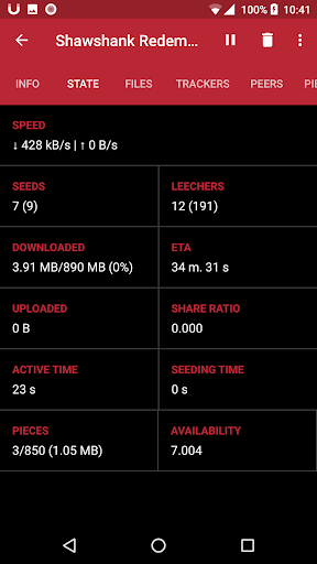 MuTorrent - Torrent Downloader 1.1.0 screenshots 3