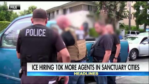 Immigration enforcement descends on sanctuary cities