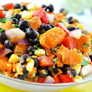 Healthy Southwestern Sweet Potato Salad