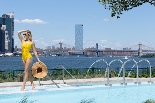 You can now book a visit to Governors Island's lavish new Italian spa