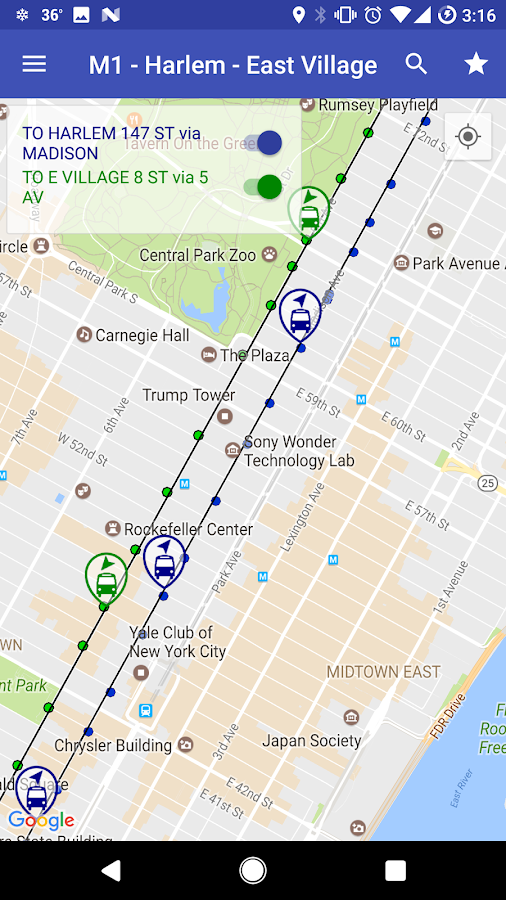 Nyc live bus tracker map android apps on google play nyc live bus tracker map screenshot sciox Choice Image
