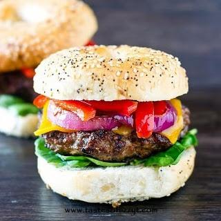 Grilled Pork Burgers