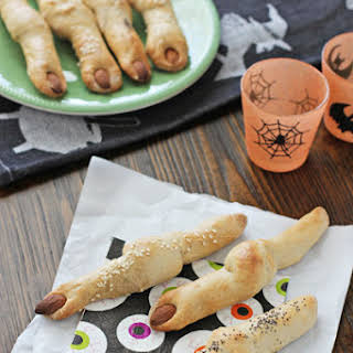 Easy Witches' Finger Breadsticks.