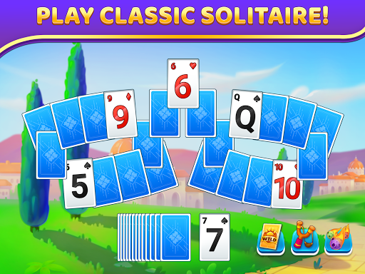 Puzzle Solitaire - Tripeaks Escape with Friends 12.0.0 screenshots 6