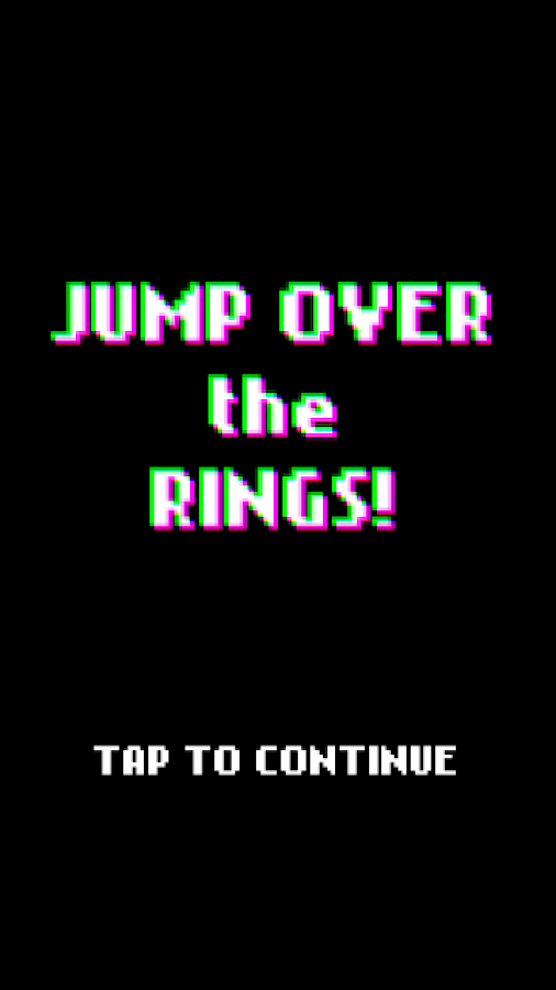 Jump Over the Rings!- screenshot