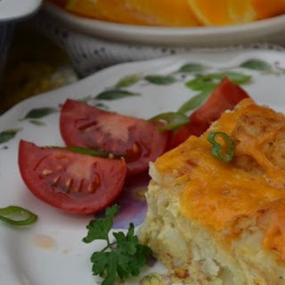 Tater Tot® and Bacon Breakfast Casserole.