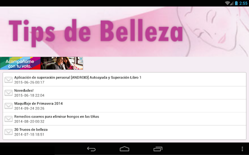 Tips de Belleza- screenshot thumbnail