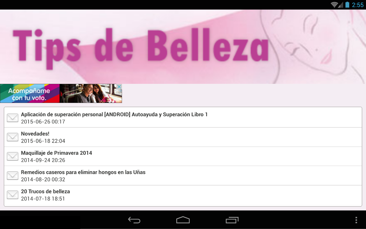 Tips de Belleza- screenshot