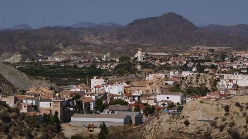 Vista general del municipio de Zurgena.