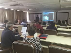 Photo: Talk at ULA