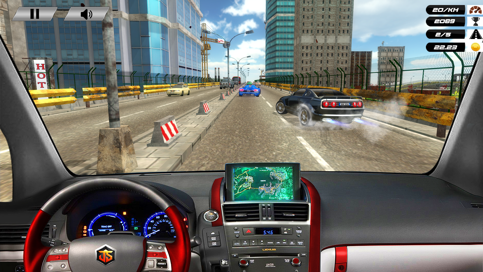Speed Traffic Highway Car Racer: Motorsport Racing- screenshot