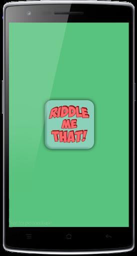 Riddles Quiz