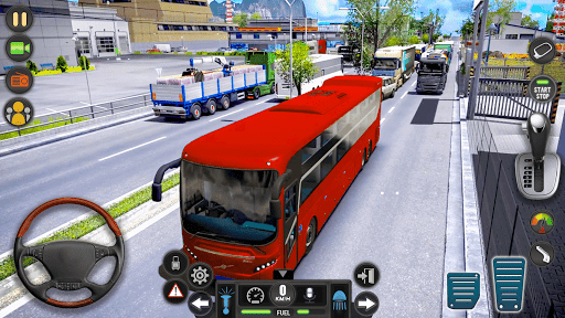 Modern Bus Simulator Drive 3D: New Bus Games Free apkmr screenshots 3