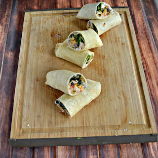 South of the Border Tuna Wrap