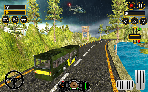 Drive Army Bus Transport Duty Us Soldier 2019 1.0 screenshots 4