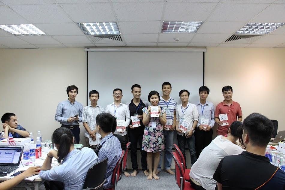 Phần thưởng cho những học viên tích cực nhất