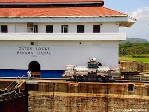 Photo: #015-L'écluse de Gatun sur le canal de Panama