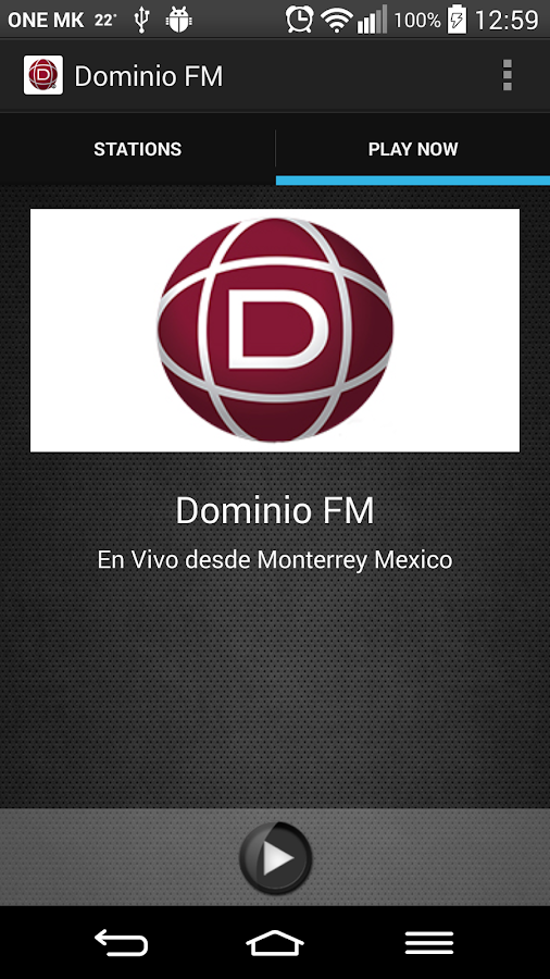Dominio FM- screenshot