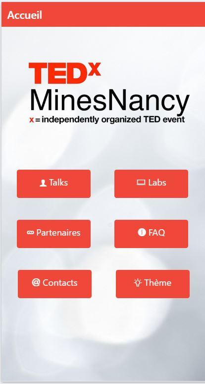 TEDx Mines Nancy- screenshot