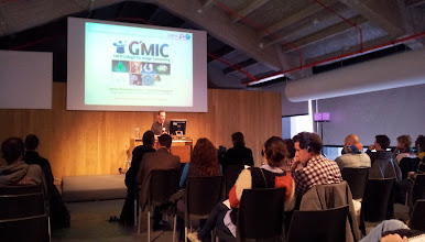 Photo: James Prichard presented Gmic because David Tschumperlé ( the creator ) couldn't come to LGM