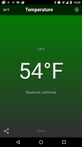 Temperature  screenshots 1