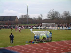 Photo: 02/01/06 v Billericay Town (Ryman League Premier Division) 2-1 (first game at the new Melbourne Park) - contributed by Martin Wray