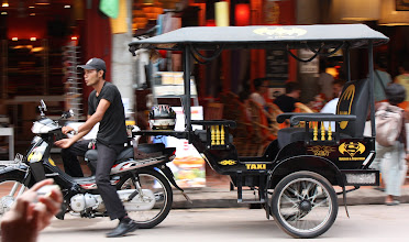 Photo: Year 2 Day 43 -  Batman Tuk Tuk Taxi