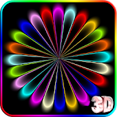 3D Color Wave Live Wallpaper