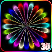 3D Color Wave Live Wallpaper