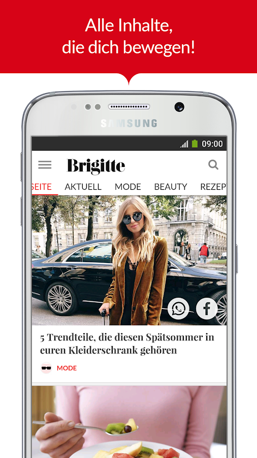 BRIGITTE – Mode, Liebe, Beauty- screenshot