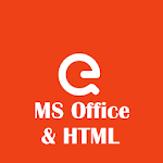 EduQuiz : MS Office and HTML Icon