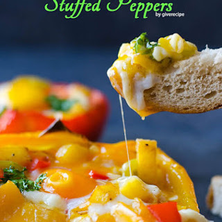 Potato and Egg Stuffed Peppers