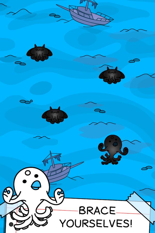 Octopus Evolution - 🐙 Clicker- screenshot