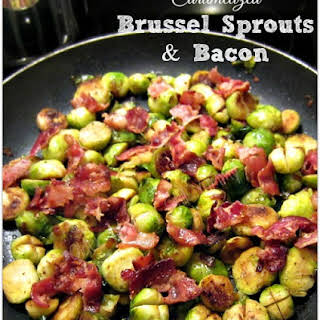 Caramelized Brussel Sprouts With Bacon Recipes.