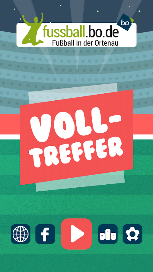 Volltreffer by fussball.bo.de – Screenshot