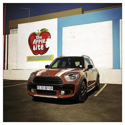 The new Mini cooper Countryman.