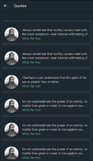 Attila the Hun Quotes 1.9 screenshots 2
