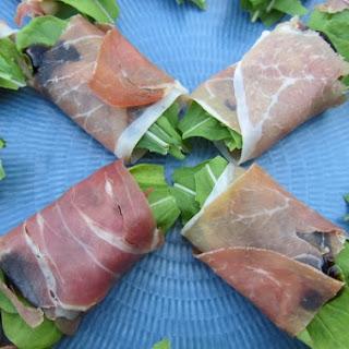 Prosciutto-Arugula-Provolone Packages Recipe