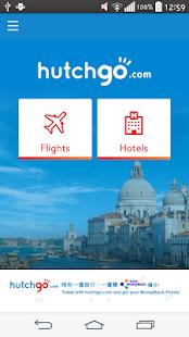 hutchgo.com - Flight,Hotel Booking - náhled