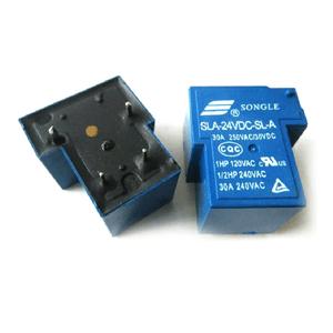 Relay 24v - 4 chân (SLA-24VDC-SL-A) - rơ le máy hàn  Công tắc