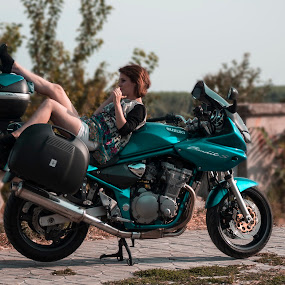 by Iulian Ciocarlan - Transportation Motorcycles